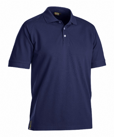 Blaklader 3326 Pique UV Protection Polo Shirt (Navy Blue)